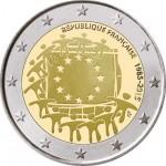França 2€ 2015 - 30 Anos da Bandeira Europeia