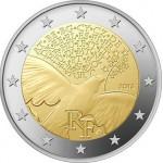 França 2€ 70 Anos Paz na Europa 2015 Disponível meados de Fevereiro