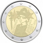 Eslovénia 2€ Barbara Celjska 2014