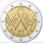 França 2€ Dia Mundial da Sida Disponível dia 3/12/14