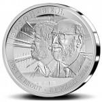 Bélgica 5€ 50 Anos do Higgs Bosson 2014
