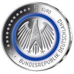 Alemanha 5€ Planeta Terra - Letra J 2016