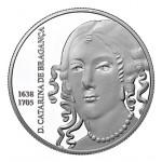 Portugal 5€ Catarina de Bragança Prata Proof 2016 Brevemente