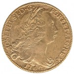 D. José I Peça (6400 Réis) Josephus de 1762