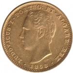 D. Luís I 5000 Réis 1868
