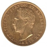 D. Luís I 5000 Réis 1887