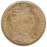 D. Maria I Peça (6400 Réis) de 1803