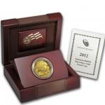 U.S.A 50 Doláres Búfalo Ouro 2012