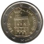 São Marino 2€ 2016 Corrente