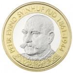 Finlândia 5€ Presidentes da Finlândia - Svinhufvud 2016
