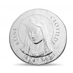 França 10€ Rainha Clotilde 2016