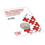 Portugal 2€ 150 Anos Cruz Vermelha Bnc 2015