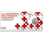Portugal 2€ 150 Anos Cruz Vermelha Proof 2015