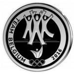 Bélgica 10€ - A Equipa Belga no Rio 2016