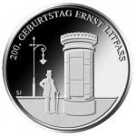 Alemanha 20€ 125º Aniv. Nascimento de Ernst Litfaß - Letra D - 2016