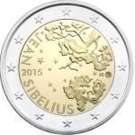 Finlândia 2€ Jean Sibelius 2015