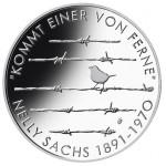 Alemanha 20€ 125º Aniv. Nascimento de Nelly Sachs - Letra F - 2016