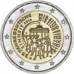 Alemanha 2€ 25 Anos da União Alemã ( 5 letras) Disponível dia 2/2/15