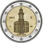 Alemanha 2€ Igreja São Paulo 2015 (5 Letras) Disponível dia 2/2/15