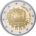 Portugal 2€ 2015 - 30 Anos da Bandeira Europeia Proof