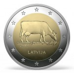 Letónia 2€ Indústria Agraria 2016