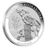 Austrália 1 Dollar Kookaburra 2016 - Onça de Prata