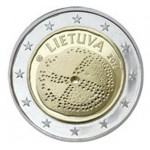 Lituânia 2€ Cultura do Baltico 2016 Brevemente