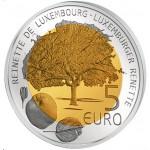 Luxemburgo 5€ Maça Reineta 2014