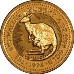 Austrália 50 Dolares Kanguru 1994 (1/2oz)