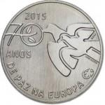 Portugal 2,50€ 70 Anos Paz na Europa Disponível 12/3/15