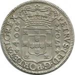 D. Pedro II Cruzado 1704