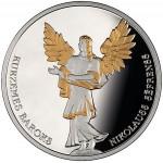 Letónia 5€ Kurzemes Baroks 2014