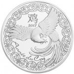 França 10€ Ano do Galo Proof 2017
