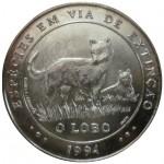 Portugal 1000$00 Escudos - O Lobo de 1994