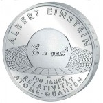 Alemanha 10€ - Letra J - 2005 - Albert Einstein