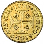 D. Maria I Pinto (Cruzado) 1790