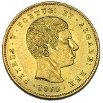D. Pedro V 5000 Réis 1860