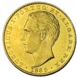 D. Luís 2000 Réis (1/5 Coroa) de 1865