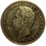 D. Luís 5000 Réis (1/2 Coroa) de 1871
