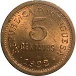Portugal 5 Centavos  de 1922