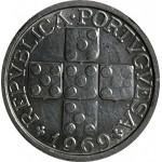 Portugal 10 Centavos 1969 Alumínio