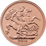 Libra Isabel II 2018 Ouro