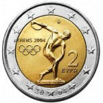 Grécia 2€ Jogos Olimpicos Atenas 2004