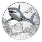 Áustria 3€ Tubarão 2018