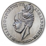 Portugal 5€  A Degolada de D. Maria II 2013