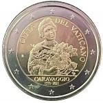 Vaticano 2€ Caravaggio 2021