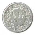 Suiça 1/2 Franco de 1946