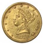 USA 10 Dólares 1880