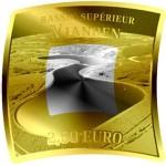 Luxemburgo 2,5€ Central Hidroeléctrica de Vianden 2018