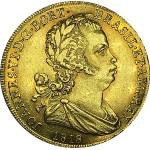 D. JOÃO VI  1/2 PEÇA (3200 RÉIS) 1818